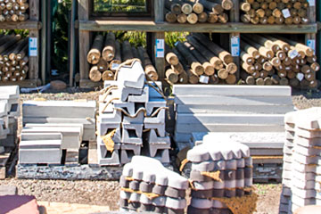 Timber Logs, Sleepers, & Lattice for your Landscaping project